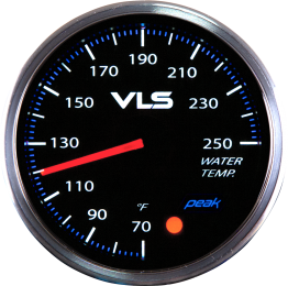 Revel VLS II Water Temperature Analog Gauge