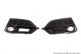 Revel GT Dry Carbon Front Fog Light Cover Set for 16-18 Honda Civic Type-R