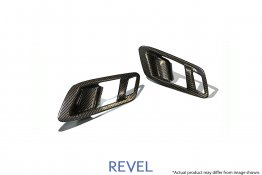 Revel GT Dry Carbon Inner Door Handle Set for 20-20 Toyota Supra