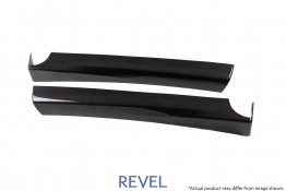 Revel GT Dry Carbon Door Trim Cover Set for 16-19 Tesla Model 3