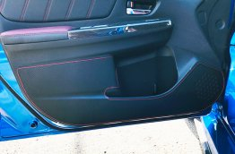 Revel Kick Panel Cover for 2016-2019 Subaru WRX & WRX STI (Red)