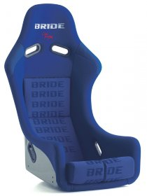 Bride ZIEG III Type R - Blue Hyper Super Aramid-Black Carbon