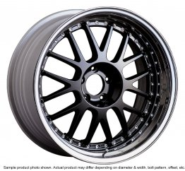 SSR Professor MS1 wheel 19 inch 5/114.3 Black
