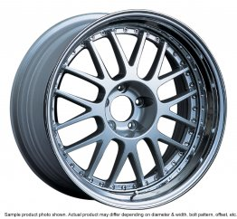SSR Professor MS1 wheel 20 inch 5/100 Silver