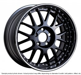 SSR Professor MS1R wheel 16 inch 4/100 Black
