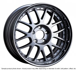 SSR Professor MS1R wheel 17 inch 5/100 Silver