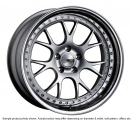 SSR Professor MS3 wheel 18 inch 4/114.3 Silver