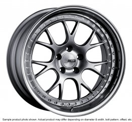 SSR Professor MS3 wheel 18 inch 5/100 Titan Silver