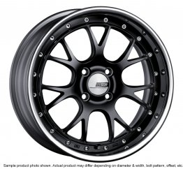 SSR Professor MS3R wheel 17 inch 5/100 Flat Black