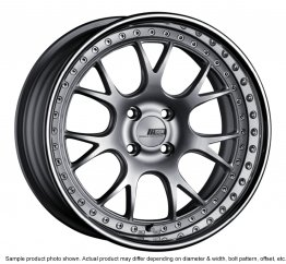SSR Professor MS3R wheel 17 inch 4/100 Silver