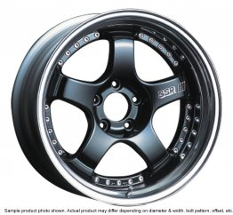 SSR Professor SP1 wheel 20 inch 5/100 Black