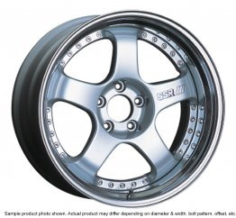 SSR Professor SP1 wheel 20 inch 5/100 Silver