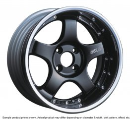 SSR Professor SP1R wheel 16 inch 4/114.3 Black