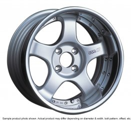 SSR Professor SP1R wheel 16 inch 4/114.3 Silver