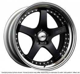 SSR Professor SP4 wheel 18 inch 5/100 Flat Black