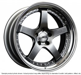 SSR Professor SP4 wheel 18 inch 5/100 Titan Silver