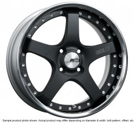 SSR Professor SP4R wheel 17 inch 5/100 Flat Black
