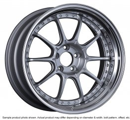 SSR Professor SP5 wheel 18 inch 5/100 High Bright Silver
