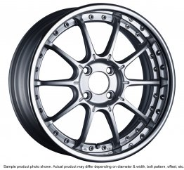 SSR Professor SP5R wheel 17 inch 4/100 High Bright Silver