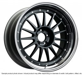 SSR Professor TF1 wheel 18 inch 5/114.3 Flat Black