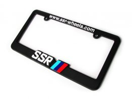 SSR Wheels License Plate Frame