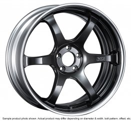 SSR Reiner Type-6 wheel 18 inch 5/100 Prism Dark Gunmetal