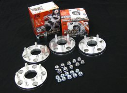 FIC 25mm Wheel Spacer for 4/100 Bolt Pattern 54mm Hub 1.25 Pitch
