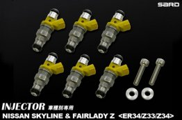 SARD 550cc Top Feed Fuel Injector for Nissan Z33/Z34/ER34