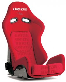 Bride GIAS II - Red Hyper *Aramid-Black Shell