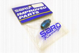 SARD Fuel Pressure Regulator Adapter Straight AN#6 to NPT 1/8