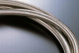 SARD AN#6 Stainless Steel Braided Fuel Hose 2m