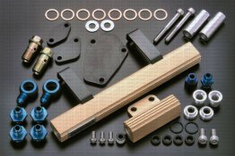 SARD Fuel Rail for RX-7 FD3S (Primary and Secondary Rails)