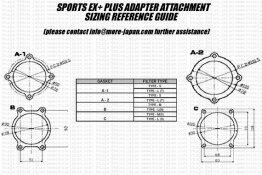 SARD Gasket for Sports EX+ Plus