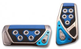Razo GT Spec Pedal Set - Blue/Automatic
