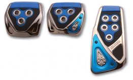 Razo GT Spec Pedal Set - Blue/Manual