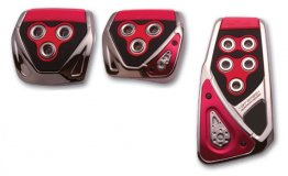 Razo GT Spec Pedal Set - Red/Manual