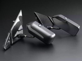 JUN Carbon Aero Mirrors - Mitsubishi Evo X
