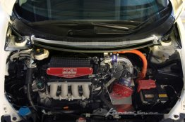 Kansai Service Front Tower Bar - Honda CR-Z (ZF1/ZF2)