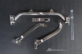 Kansai Service Stainless Lower Brace Set - Nissan Skyline GT-R (BNR34)