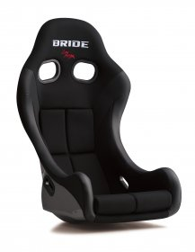 Bride ZIEG IV - Black (Super Aramid Black Carbon) *HANS COMPATIBLE