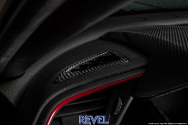 Revel GT Dry Carbon Defroster Garnish for 16-18 Honda Civic