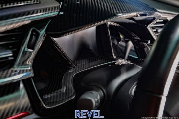 Revel GT Dry Carbon Dash Cluster Cover for 16-18 Honda Civic