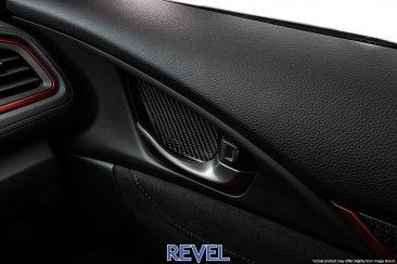 Revel GT Dry Carbon Inner Door Handle Trim Set for 16-18 Honda Civic except Coupe model