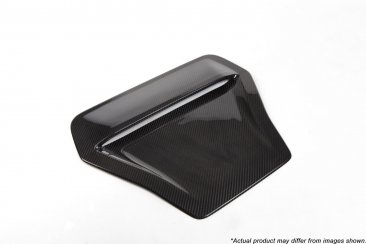 Revel GT Dry Carbon Hood Scoop Cover for 16-18 Honda Civic Type R