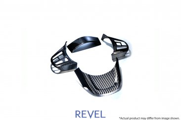 Revel GT Dry Carbon Steering Wheel Cover Inserts for 20-20 Toyota Supra