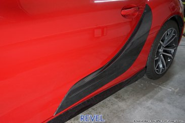 Revel GT Dry Carbon Door Panel Outer Cover Set for 20-20 Toyota Supra