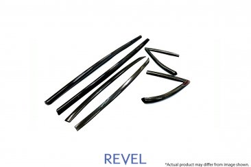 Revel GT Dry Carbon Door Window Moulding Cover Set for 20-20 Toyota Supra