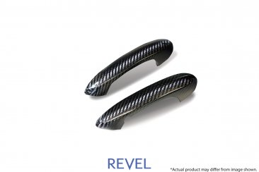 Revel GT Dry Carbon Outer Door Handle Cover Set for 20-20 Toyota Supra