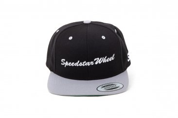 "SSR Wheels 50th Anniversary T-Shirt and ""Speedstar Wheel"" Snapback Combo"